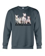 Bull Terrier Antidepressants 1712 Crewneck Sweatshirt tile