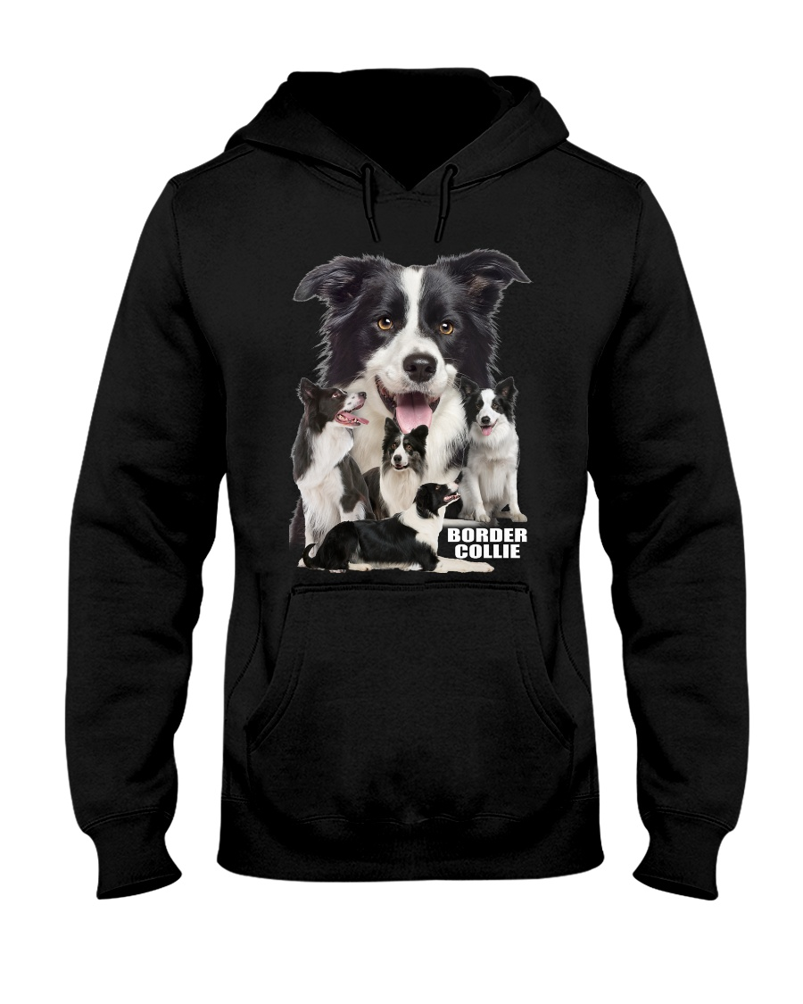Border Collie Awesome Hooded Sweatshirt
