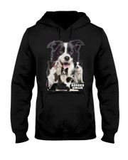 Border Collie Awesome Hooded Sweatshirt front