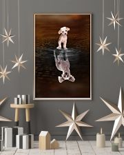 Chinese Crested Believe 11x17 Poster lifestyle-holiday-poster-1