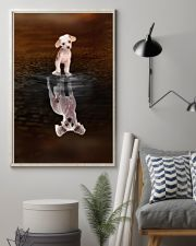 Chinese Crested Believe 11x17 Poster lifestyle-poster-1