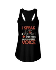 Animal and voice Ladies Flowy Tank thumbnail
