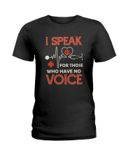 Animal and voice Ladies T-Shirt thumbnail
