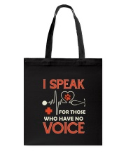 Animal and voice Tote Bag thumbnail