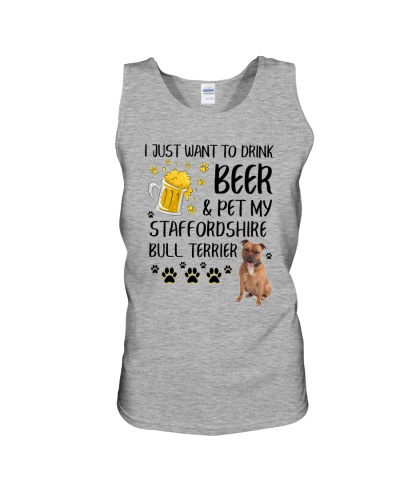 Staffie and Beer 0610