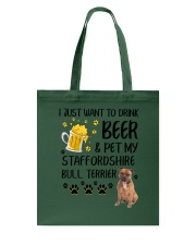 Staffie and Beer 0610 Tote Bag thumbnail