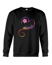 Dog always heart 0110 Crewneck Sweatshirt thumbnail