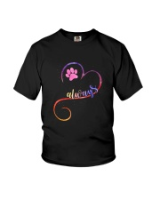 Dog always heart 0110 Youth T-Shirt tile