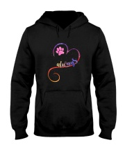 Dog always heart 0110 Hooded Sweatshirt tile