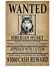 Siberian Husky Wanted Poster 2201  11x17 Poster front