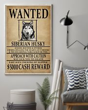 Siberian Husky Wanted Poster 2201  11x17 Poster lifestyle-poster-1