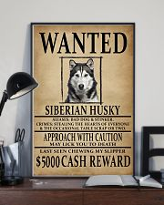 Siberian Husky Wanted Poster 2201  11x17 Poster lifestyle-poster-2