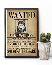 Siberian Husky Wanted Poster 2201  11x17 Poster lifestyle-poster-8