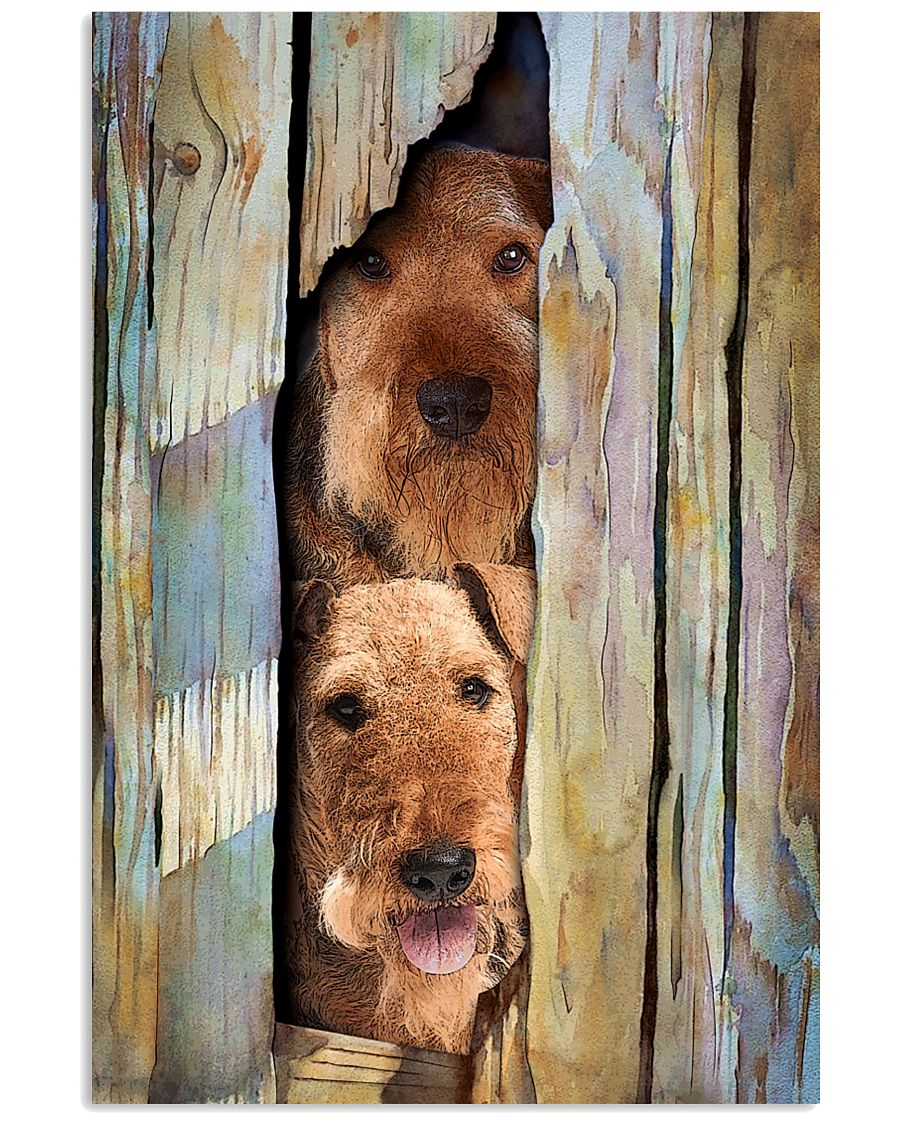Airedale-Terrier Funny 11x17 Poster
