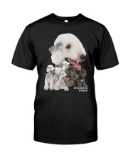Bedlington Terrier Awesome Family 0501 Classic T-Shirt front