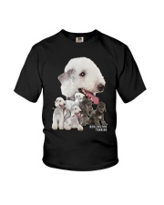 Bedlington Terrier Awesome Family 0501 Youth T-Shirt thumbnail