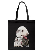 Bedlington Terrier Awesome Family 0501 Tote Bag thumbnail