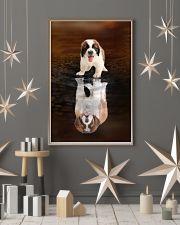 Saint Bernard Believe 11x17 Poster lifestyle-holiday-poster-1