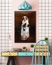 Saint Bernard Believe 11x17 Poster lifestyle-poster-6