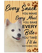 American Eskimo Dog Watching You 11x17 Poster front