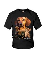 Dachshund Awesome Mug Youth T-Shirt thumbnail