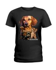 Dachshund Awesome Mug Ladies T-Shirt thumbnail