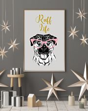 Rottweiler Ruff Life 11x17 Poster lifestyle-holiday-poster-1