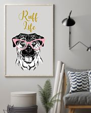 Rottweiler Ruff Life 11x17 Poster lifestyle-poster-1