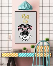 Rottweiler Ruff Life 11x17 Poster lifestyle-poster-6