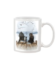 Alaskan Malamute Waiting Mug tile