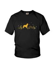 Golden Retriever Heart Beat 0110 Youth T-Shirt thumbnail