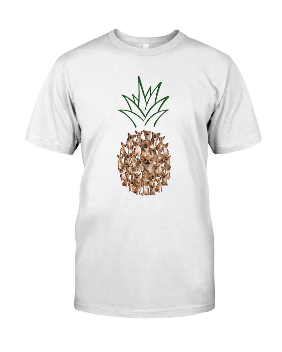 Chihuahua Pineapple Classic T-Shirt