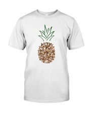Chihuahua Pineapple Classic T-Shirt front