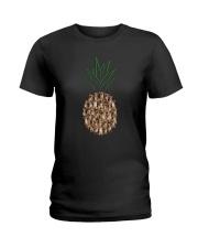 Chihuahua Pineapple Ladies T-Shirt thumbnail