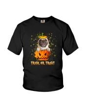 Dog In Pumpkin Youth T-Shirt thumbnail