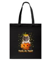Dog In Pumpkin Tote Bag thumbnail