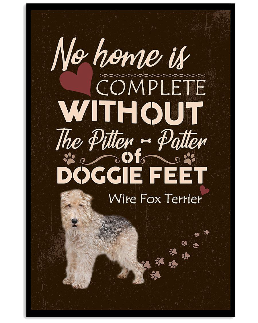 Wire Fox Terrier Feet 11x17 Poster