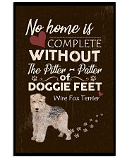 Wire Fox Terrier Feet 11x17 Poster front