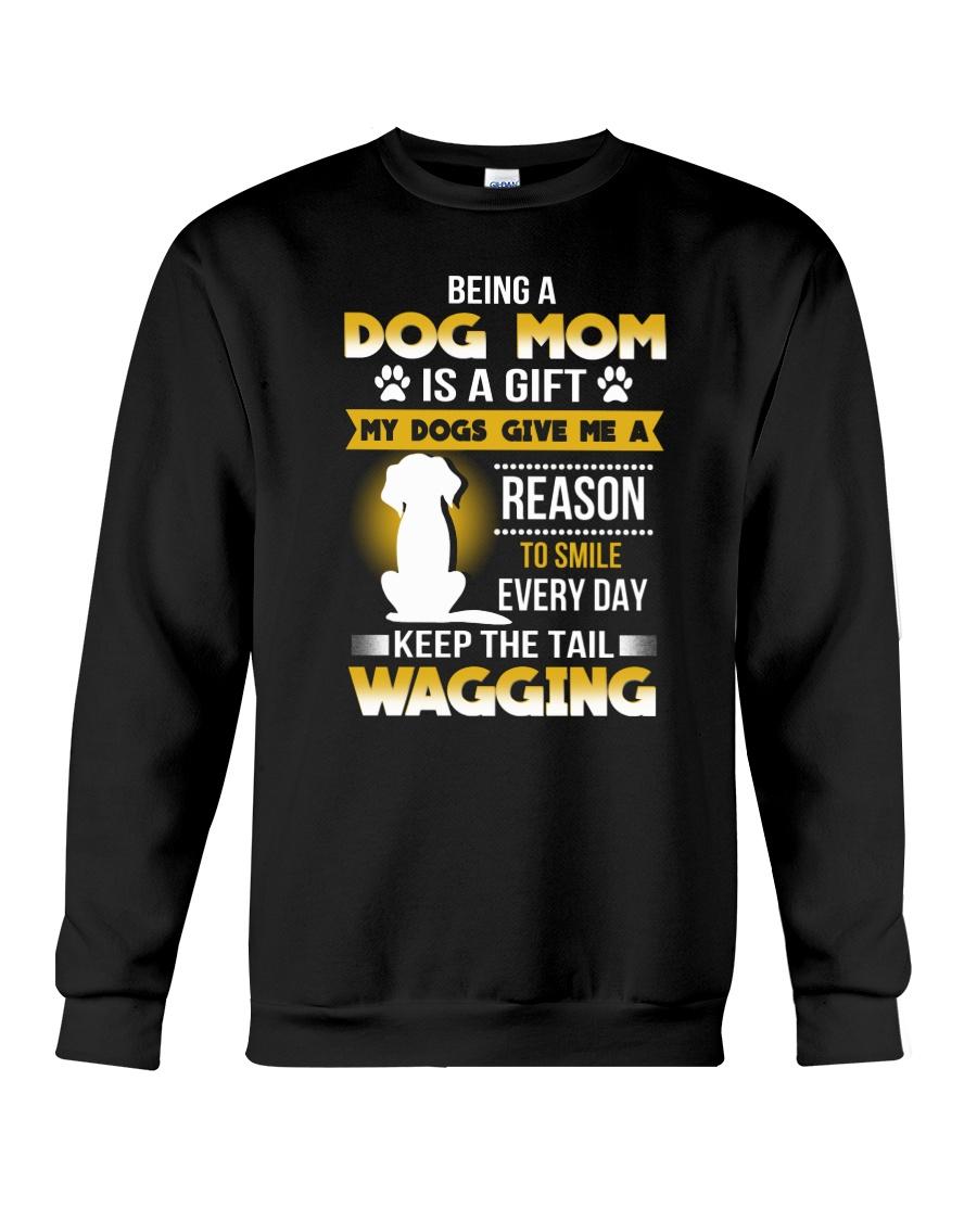 Dog mom and gift Crewneck Sweatshirt