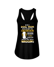 Dog mom and gift Ladies Flowy Tank thumbnail
