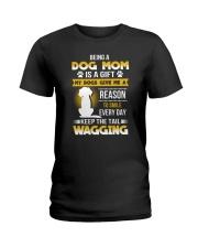 Dog mom and gift Ladies T-Shirt thumbnail