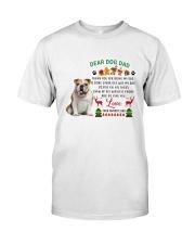 Bulldog love Classic T-Shirt thumbnail