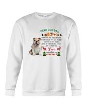 Bulldog love Crewneck Sweatshirt thumbnail
