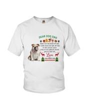 Bulldog love Youth T-Shirt thumbnail