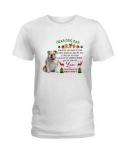 Bulldog love Ladies T-Shirt thumbnail