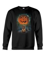 Pumpkin Balloon German Shepherd Crewneck Sweatshirt thumbnail