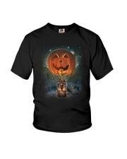 Pumpkin Balloon German Shepherd Youth T-Shirt thumbnail