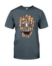 Beagle Skull 1012 Classic T-Shirt tile