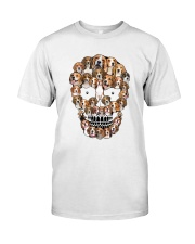 Beagle Skull 1012 Classic T-Shirt front