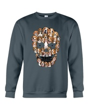 Beagle Skull 1012 Crewneck Sweatshirt thumbnail